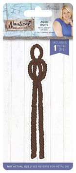 """Stanzschablone """"Nautical, Aged Rope"""" - Crafter's Companion"""