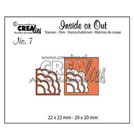 """Stanzschablone """"Inside or Out Cutting Corners #7"""" - Crealies"""