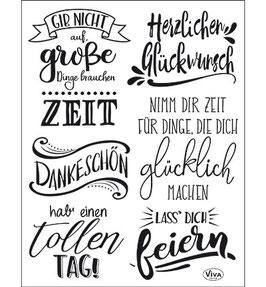 Lettering Deutsch - Viva