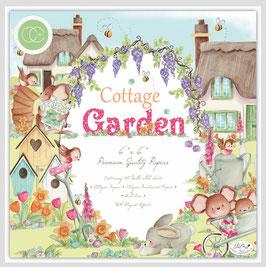 Cottage Garden 6x6 Paperpad - Craft Consortium