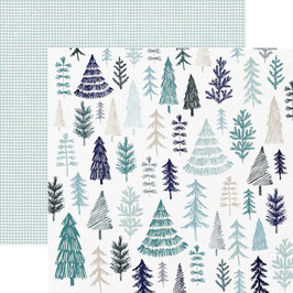 "Designpapier ""Wonderland, Winter"" - Kaisercraft"