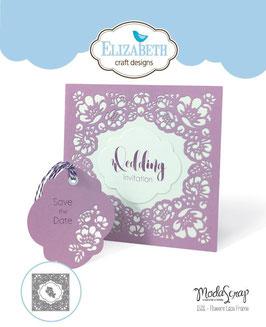Flowers Lace Frame - Elizabeth Craft Designs