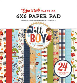 All Boy 6x6 Paperpad - Echo Park