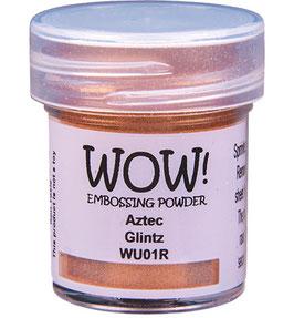 "Embossingpulver ""Aztec Glintz"" - WOW!"