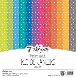 Thinking About Rio De Janeiro 6x6 - ModaScrap