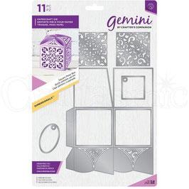 """Stanzschablone """"Square Petal Box"""" - Gemini"""