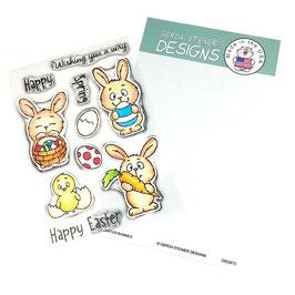 "Clearstampset ""Easter Bunnies"" - Gerda Steiner Designs"
