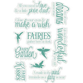 """Clearstampset """"Fairy Garden, Fairy Fables"""" - Crafter's Companion"""