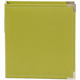 SN@P! Faux Leather Album 6x8 Inch, green