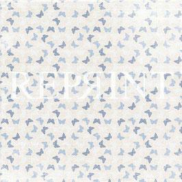 Dusty Blue Collection, Butterflies - Reprint