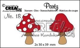 Partz No. 18 Pilze - Crealies
