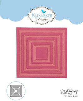 """Stanzschablone """"Dashing Squares"""" - Elizabeth Craft Designs"""