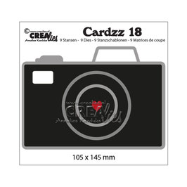 "Stanzschablone ""Cardzz #18 Camera"" - Crealies"