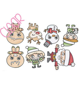 "Clearstamps ""Christmas Cuties"" - C.C.Designs"