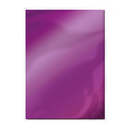 Electric Purple Gloss Mirror Card - Tonic Studios