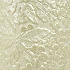"Hand Crafted Cotton Paper A4 ""Ivory Bouquet"" - Tonic Studios"