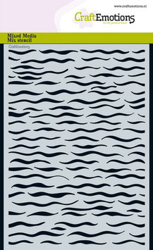 "Schablone ""Ocean - Wellen"" - CraftEmotions"