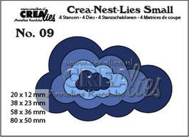 Wolken - Crealies