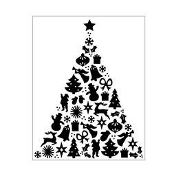 "Prägeschablone ""Christmas Tree"" - Darice"