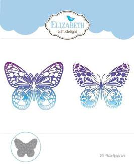 """Stanzschablone """"Butterfly Aperture"""" - Elizabeth Craft Designs"""