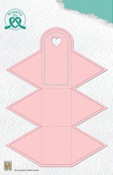 "Wrapping Die Gift Box ""Dreieck"" - Nellie's Choice"