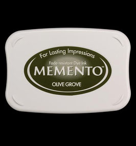 Memento Inkpad - Olive Grove