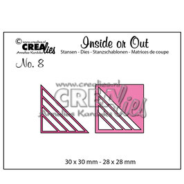 """Stanzschablone """"Inside or Out Cutting Corners #8"""" - Crealies"""