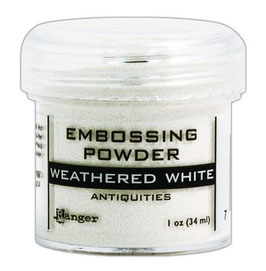 "Embossingpulver ""Weathered White"" - Ranger"