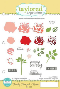 Simply Stamped Roses - Taylored Expressions