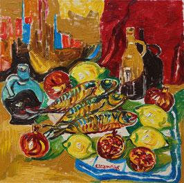 Original-Ölgemälde-Nr.340