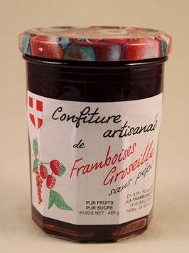 Confiture de Framboises-Groseilles