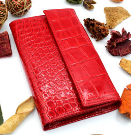 Women's Leather wallet Elegant Red