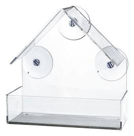 Futterhaus für Fensterscheibe