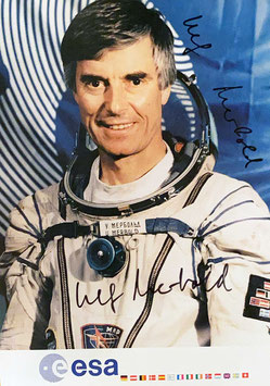 Ulf Merbold, Signed official ESA Photo