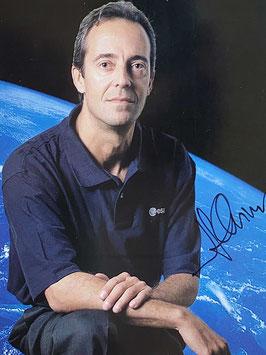 Jean-Francois Clervoy, official signed ESA Card