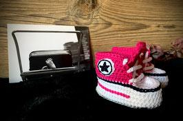 Baby Sneakers, cyclam 114 (FLSN012)