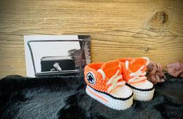 Baby Sneakers, koralle 410 (FLSN003)