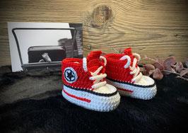 Baby Sneakers, signalrot 115 (FLSN004)