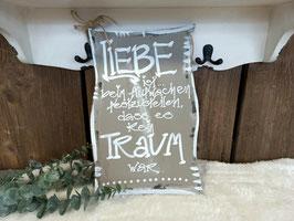 """Schild """"Liebe ist...2"""" (FL1409)"""