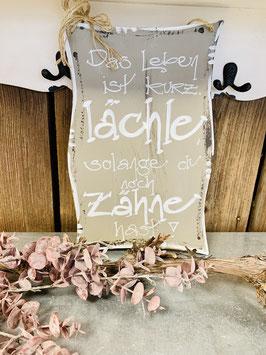 """Schild """"Lächle"""" (FL1401)"""