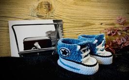 Baby Sneakers, jeans 152 (FLSN011)