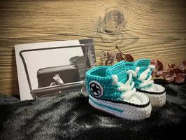 Baby Sneakers, jade 253 (FLSN015)