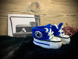 Baby Sneakers, royal 201 (FLSN007)