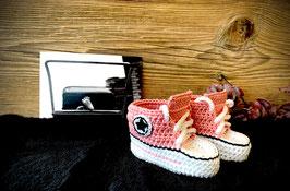 Baby Sneakers, altrosa 408 (FLSN002)