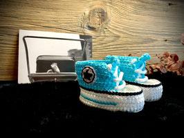 Baby Sneakers, türkis 397 (FLSN014)