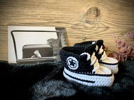 Baby Sneakers, schwarz 110 (FLSN006)