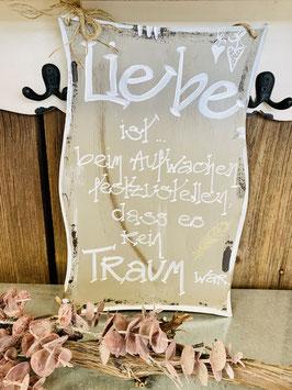 Schild Liebe ist... (FL1405)