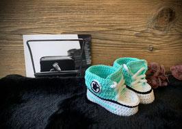 Baby Sneakers, mint 385 (FLSN001)