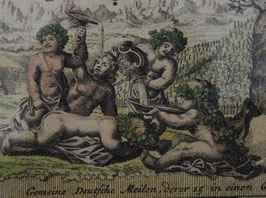 # 921 -  antique copper engraving 18/19th century central europe - Austria Graz - 64 x 56 cm