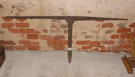 # 1693 - very wide german stake anvil for fine work , total length on top 50,4 inches !!